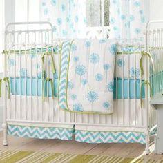 Pink and Gray Chevron Crib Bedding | Carousel Designs