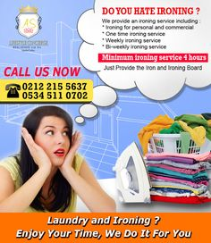 Istanbul Filipino Maids by AS Lifestyle Concierge and Real Estate Ltd. Sti.: Istanbul Laundry and Ironing Service - Part Time H...