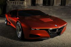 BMW M1 Hommage Concept Car. Beautiful concept car pays tribute to the original M1 and shows what could be possible if BMW were to produce a new mid-engined sports car
