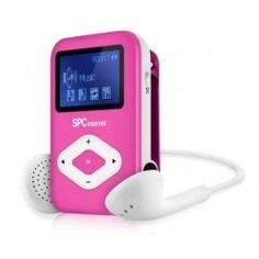 SPC Reproductor MP3 Clip&Go 8434P 4GB Rosa