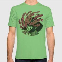 (Unisex Nature vs Nurture T-Shirt) #Children #Childrens #Digital #DigitalGirl #Floral #Illustration #Nature #Nurture is available on Funny T-shirts Clothing Store   http://ift.tt/2c1pw5m