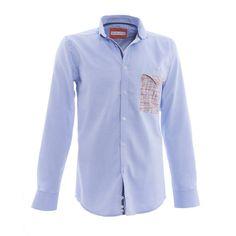 """BB Chum shirt """"Blue Oxford"""""""