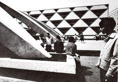 unidad habitacional nonoalco-tlatelolco school - méxico df - mario pani + luis ramos - 1964 - photo armando salas portugal