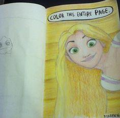 Love this disney wreck this journal! Tangled