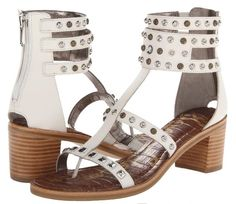 Sam Edelman Dion Gladiator White Sandals. Get the must-have sandals of this season! These Sam Edelman Dion Gladiator White Sandals are a top 10 member favorite on Tradesy. Save on yours before they're sold out!