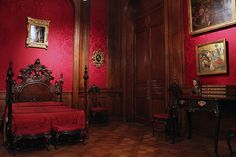 Quarto. Museu Nacional de Artes Decorativas em Buenos Aires.