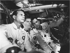Apollo 13 is a wonderful movie. I remember watching the news intently when this happened in my teen years. The movie is in color so don't let the picture keep you from checking it out. I am still in awe that they came back home.