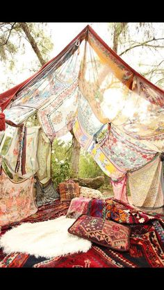 Outdoor Sanctuary Bohemian colours & Gypsy style