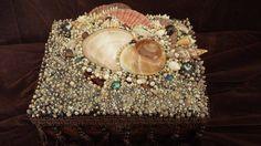 Decorative Shell Box 7x10 by ArtiseaShellArt on Etsy, $225.00