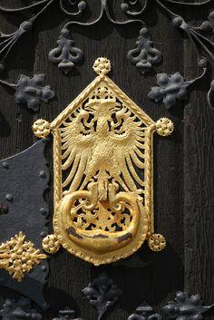 Frankfurt Golden Eagle Door Knocker