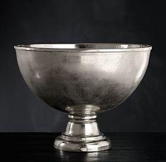 Grand Brasserie Cast Aluminum Champagne Bowl | Wine & Champagne Buckets | Restoration Hardware
