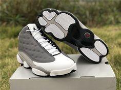 e67b9d00a62 2019 Cheap Air Jordan 13 Atmosphere Grey Basketball Shoes For Men