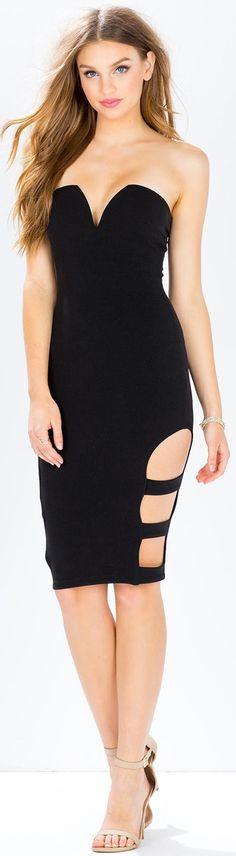 Karina Cut Out Midi Dress