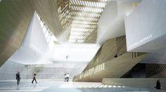 Musée National des Beaux Arts du Québec proposal / Saucier + Perrotte Architectes,© Courtesy of Saucier + Perrotte Architectes