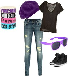 """Hot Topic"" by bean96 on Polyvore"