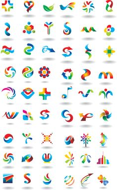 vector | Great collection of colorfull vector logos.