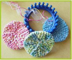 Gettin' It Pegged Scrubby-O   Video tutorial: gettinitpegged.co...  Extra Tips: gettinitpegged.co...  More Loom Knitting Freebies:  gettinitpegged.co...