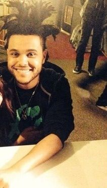 "Abel Tesfaye ""The Weeknd"" (he has such a cute smile)"
