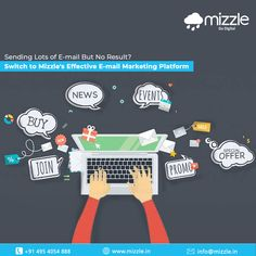 94% of Internet users use email. Therefore, marketing through email allows you to reach many Internet users even if they are not on social media. If you are unable to generate customers, does it mean that e-mail marketing is losing its strategy? No! #Mizzle will assist you to solve your problem.  #emailmarketing #emailmarketingautomation #emailmarketingstrategy #digitalmarketing #leadgeneration #emailmarketingtools Mobile Application Development, Design Development, Email Marketing Strategy, Internet Marketing, Best Web Design, Web Design Company, Digital Marketing, Social Media, Online Marketing