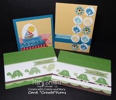 cards by Mary Brown