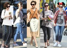 Lily Collins pixie haircut styles