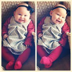 Emilia's Stephen's Day Outfit!  #babystylediet #ootd #babysacconejoly #zarababy #zara #emilia