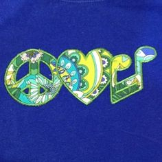 Peace, Love & Music Applique - 3 Sizes! | Music | Machine Embroidery Designs | SWAKembroidery.com Machine Embroidery Geek