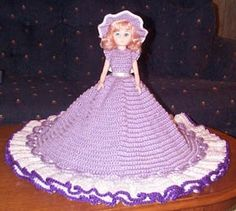 PATRICIA is a crochet bed doll pattern by Ricochet 1950. I originally found at Sadly, this site is no longer available. I hope shedoesn'tmind me sharing her beautiful patterns. I have not actual...