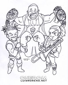 wwe coloring pages Free Large Images jardin Pinterest Wwe