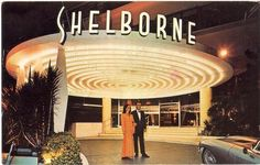 #WaybackWednesday - An old postcard of the Shelborne. (Undated) #MiamiBeach #ShelborneHotel #CollinsAvenue