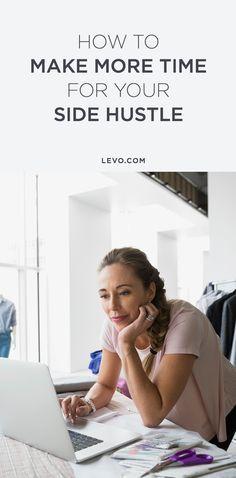 Find how it's not as hard as it looks to have a side hustle. @levoleague www.levo.com