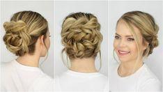 Pull Through bun - great for long hair