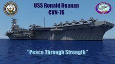 USS Ronald Reagan CVN-76 Minecraft Project