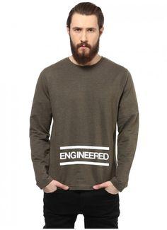 81d2c92211f Atorse Mens Casual Printed Full Sleeve Tshirt