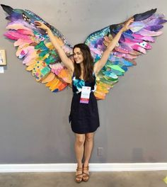 Collaborative art: wings Use as inspiration for Peace Doves????