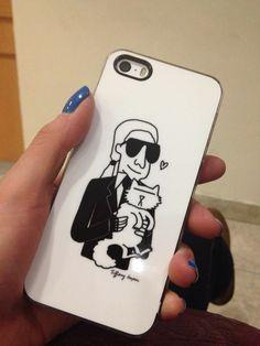 karl lagerfeld iphone case