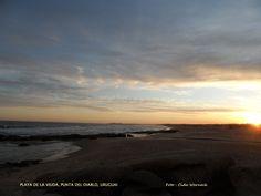PLAYA DE LA VIUDA  em Punta del Diablo, Uruguai. Foto : Cida Werneck