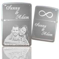 Original Zippo | Chrom poliert | beidseitige Gravur |Laser engraved Laser Engraving, Presents, The Originals, How To Make, Products, Gifts, Favors, Gift