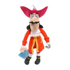 Jake and the Never Land Pirates Plush Doll [Hook]