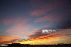 Fotografía de noticias : Sunrise prior to the Monster Energy NASCAR Cup...