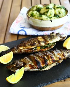 Tasty, Yummy Food, Dinner Is Served, Fish And Seafood, Recipe Of The Day, Barbecue, Zucchini, Favorite Recipes, Meals
