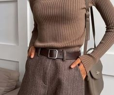 girl, style και beauty εικόνα στο We Heart It Winter Fashion Outfits, Look Fashion, Fall Outfits, Autumn Fashion, Womens Fashion, Woman Outfits, Fall Dresses, Cute Casual Outfits, Stylish Outfits