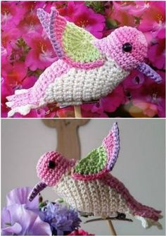 What better time to start making some springtime Crochet Bird Patterns. We& got patterns featuring small birds, big birds and every kind in-between. Plus we& included a video tutorial on crocheting a sweet little springtime chick! Crochet Bird Patterns, Crochet Birds, Cute Crochet, Crochet Crafts, Crochet Flowers, Crochet Baby, Crochet Projects, Easy Crochet Animals, Crochet Stars
