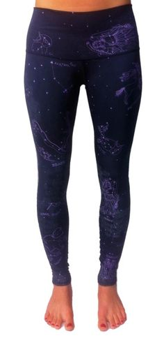Teeki Star Dust Pant - wear your astrology! Yoga Fashion, Fitness Fashion, Workout Leggings, Workout Pants, Sport Outfits, Cool Outfits, Workout Wear, Workout Style, Workout Outfits