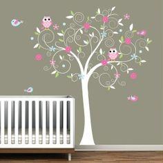 gray and pink nurseries | Pink and gray nursery