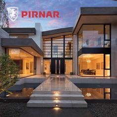 Le plus récent Instantanés Style Architectural design Style Modern Glass House, Modern House Design, Glass House Design, Modern Exterior, Exterior Design, Interior Modern, Luxury Interior, Modern Architecture House, Architecture Design