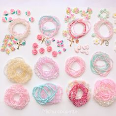 Buying Wholesale Jewelry Is Not Just About Price Comparison Kawaii Accessories, Kawaii Jewelry, Baby Jewelry, Kids Jewelry, Diy Accessories, Jewelry Making, Magical Jewelry, Plastic Jewelry, Wholesale Jewelry