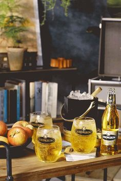 Cheers to the crisp & refreshing flavor of Strongbow Gold Apple Hard Cider. Simply pour over ice and enjoy with friends.