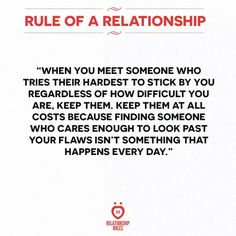 All relationships!