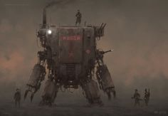 """This time a few concept arts from the upcoming RTS game """"Iron Harvest"""" set in my world of 1920+ : ) cheers! http://iron-harvest.com/"""